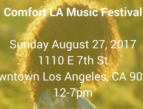 Comfort LA Music Festival, August 27, 2017