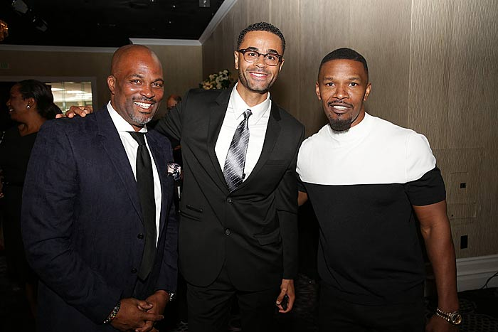 Great men like Jamie Foxx supporting the Ladylike Foundation